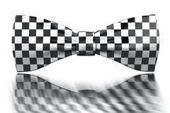 Checkered bow-tie Stock Photography