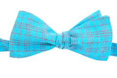 Checkered bow tie isolated Royalty Free Stock Image