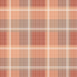 Checkered brown seamless pattern repeat Stock Photography