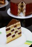 Checkered Cake Stock Photos
