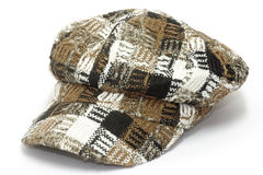 Checkered cap Royalty Free Stock Photo