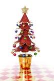 Checkered Christmas Tree Stock Photos