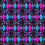 Checkered circels pattern Royalty Free Stock Photo