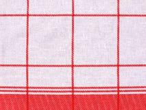 Checkered cloth Stock Photo