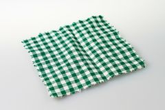 Checkered cloth Stock Photo