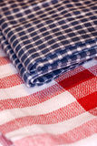 Checkered cloth Royalty Free Stock Photo