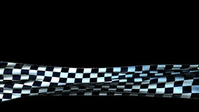 Checkered Cloth Lower Third, seamless loop stock footage