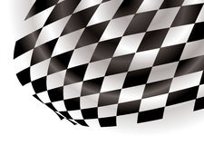 Checkered corner Stock Photos