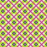 Checkered cotton fabric seamless pattern Royalty Free Stock Photos