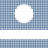 Checkered Cover Background with space for text. Blue checkered Cover Background with space for text Royalty Free Stock Photos