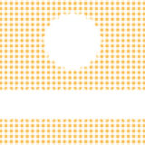Checkered Cover Background with space for text Stock Photography