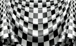 Checkered Curtain Royalty Free Stock Photo