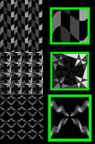 Checkered 3D texture. Texture for the background, creating the illusion of relief. Can reduce the brightness to your liking Royalty Free Stock Photos