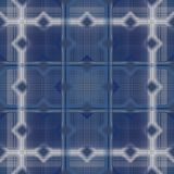 Checkered  dark blue seamless pattern. Royalty Free Stock Photography