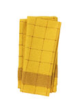 Checkered dish towel Royalty Free Stock Images