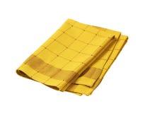 Checkered dish towel Stock Image