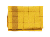 Checkered dish towel Stock Photo