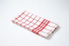 Checkered dishtowel Royalty Free Stock Photography