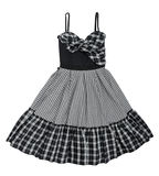 Checkered dress Royalty Free Stock Image