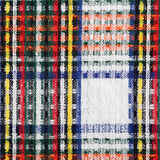 Checkered fabric. May be used as background Royalty Free Stock Photography