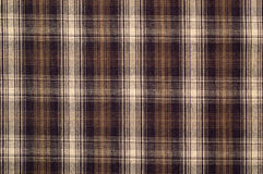 Checkered fabric. Traditional Scottish cloth Stock Images