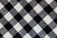 Checkered fabric background royalty free stock photos