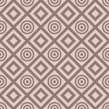 Checkered fabric background. Brown and beige seamless pattern Stock Images
