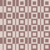 Checkered fabric background. Brown and beige seamless pattern Stock Image