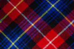 Checkered fabric background royalty free stock photo