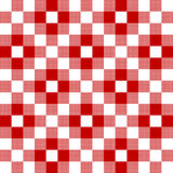 Checkered fabric background. Red seamless pattern Royalty Free Stock Photo