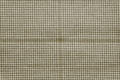 Checkered fabric of beige color Royalty Free Stock Images
