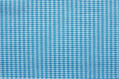 Checkered fabric of blue and white color Stock Photo