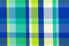 Checkered fabric Royalty Free Stock Photography