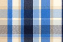 Checkered fabric Royalty Free Stock Photo