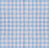 Checkered fabric closeup Stock Photography