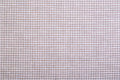 Checkered fabric closeup Stock Images