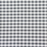 Checkered fabric closeup , tablecloth texture Royalty Free Stock Photos