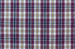 Checkered fabric Royalty Free Stock Photo