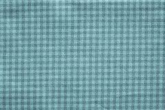 Checkered fabric of indigo color Stock Images