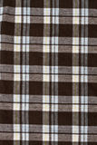 Checkered fabric pattern background Stock Photo