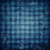 Checkered fabric pattern Royalty Free Stock Photography