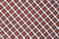Checkered fabric Royalty Free Stock Images