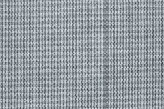Checkered fabric of silver color Stock Photo