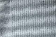 Checkered fabric of silver color Stock Photos