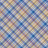 Checkered Fabric textile wallpaper Royalty Free Stock Photography