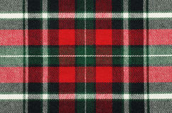 Checkered fabric texture Stock Image