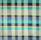 Checkered fabric texture Stock Images