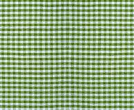 Checkered fabric texture Stock Photography