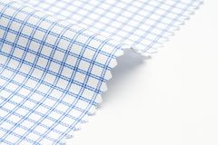 Checkered fabric texture Royalty Free Stock Image