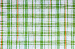 Checkered fabric Royalty Free Stock Image